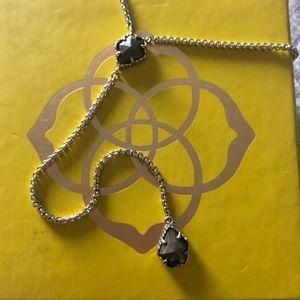 Pyrite and Gold Kendra Scott Mason Necklace